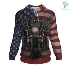 'Merica ugly christmas hoodie %tag familyloves.com