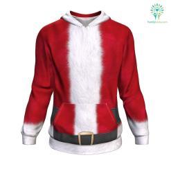Santa UGLY CHRISTMAS SWEATER %tag familyloves.com