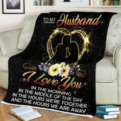 Husband And Wife Quotes - To My Husband Sherpa Fleece Blanket %tag familyloves.com