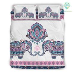 Mandala Elephant 6 Bedding Set. %tag familyloves.com