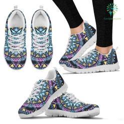 Blue Mandala Women`s Sneakers %tag familyloves.com