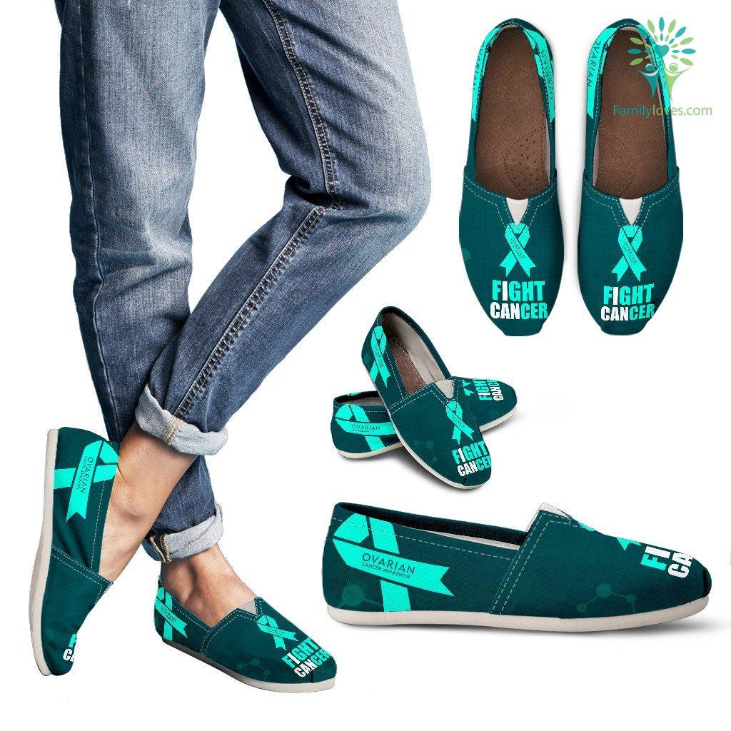 Ovarian Cancer Awareness Women S Casual Shoes Familyloves Com