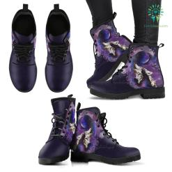 Wolf and Moon Premium Boots %tag familyloves.com
