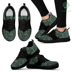 Paisley Mandala 3 Sneakers %tag familyloves.com