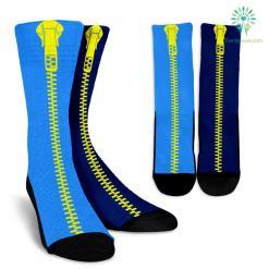 Light-Dark-Blue-001 Crew Socks %tag familyloves.com