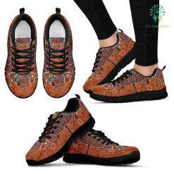 Paisley Dragonfly Sneakers %tag familyloves.com