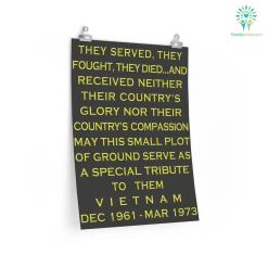 Vietnam Veterans Day Poster %tag familyloves.com
