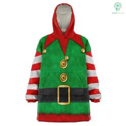 Santa's Elf - Snug Hoodie %tag familyloves.com