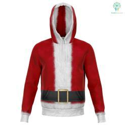 Santa - Athletic Hoodie %tag familyloves.com