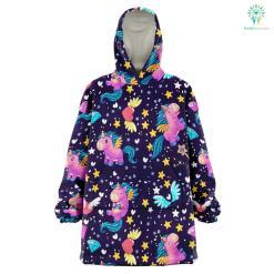 Space Unicorn - Snug Hoodie %tag familyloves.com