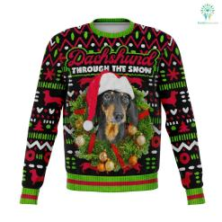 Dachshund Through The Snow %tag familyloves.com