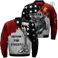 US Army Veteran 3D print jacket %tag familyloves.com