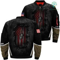 US Veteran dogtag 3D full print jacket %tag familyloves.com