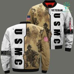 US Marine 3D Full print jacket %tag familyloves.com