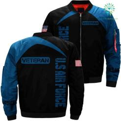 US Air force veteran 3D full print jacket %tag familyloves.com