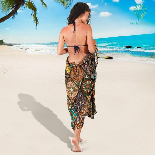 Diamond Mandala P1 - Sarong %tag familyloves.com