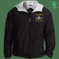 US Navy Aviation Ordnanceman Embroidered Port Authority Team Jacket %tag familyloves.com