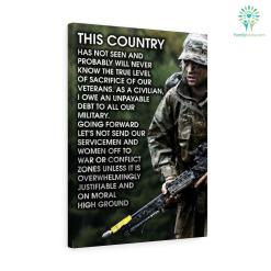 Thomas M Smith quotes Canvas-This Country Has Not Seen And Probably Will Never Know The True... %tag familyloves.com