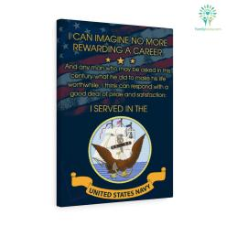 John F. Kennedy quote Canvas-I Can Imagine No More Rewarding A Career. And Any Man Who May Be A... %tag familyloves.com