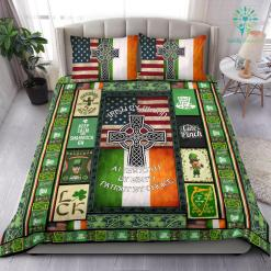 Irish By Blood American By Birth Patriot By Choice Bedding Set %tag familyloves.com