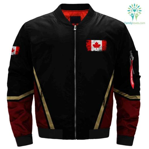 Canadian Armed Forces veteran 3D full print jacket %tag familyloves.com
