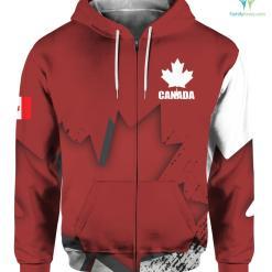 Canada Veteran Full Print hoodies t-shirt %tag familyloves.com