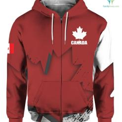 Canada Veteran Full Print hoodies t-shirt full hoodie shirt %tag familyloves.com