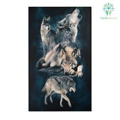 Beautiful Wolf Area Rugs %tag familyloves.com