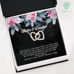 Mother & daughter it's a special bond that spans the years Necklace with Message Card %tag familyloves.com