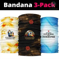 Healthcare Worker Bandana %tag familyloves.com