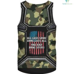 Cadet Bone Spurs Protest T-Shirt Veterans Against Trump %tag familyloves.com