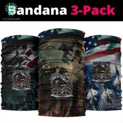 USAF Security Forces Military Bandana Neck Gaiter %tag familyloves.com