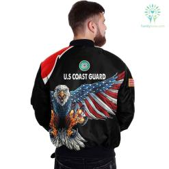 U.S COAST GUARD CLOTHING 3D PRINTED - NEW DESIGN EAGLE US FLAG WING %tag familyloves.com
