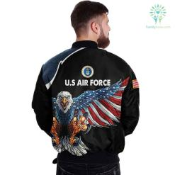 U.S AIR FORCE CLOTHING 3D PRINTED - NEW DESIGN EAGLE US FLAG WING %tag familyloves.com