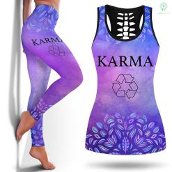 Yoga Leggings Tie Dye Womens Funny Karma Recycle Yoga Women Philosophy Yoga Leggings Old Navy Legging And Tanktop %tag familyloves.com