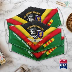 American Pick Up 1St Aviation Brigade Vietnam Face Mask Gift %tag familyloves.com