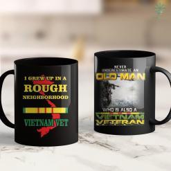 American Veterans Aid Vietnam Veteran - I Grew Up In A Rough Neighborhood. 11Oz 15Oz Black Coffee Mug %tag familyloves.com