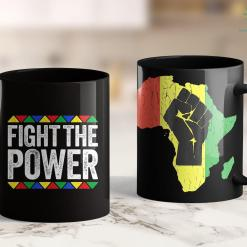 Anti Black Lives Matter Fight The Power Black Pride Gift 11Oz 15Oz Black Mug %tag familyloves.com
