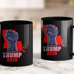 Anti Trump Coffee Mugs Louisiana For President Donald Trump 2020 Election Us Flag 11oz Coffee Mug %tag familyloves.com