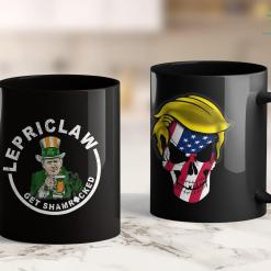 Anti Trump T Shirts Particks Day Drinking Lepriclaw Get Shamrocked Trump Lovers 11oz Coffee Mug %tag familyloves.com