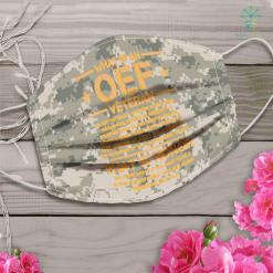 Army Bag Oif Oef Veteran Definition Iraq Proud Military Army Combat Face Mask Gift %tag familyloves.com