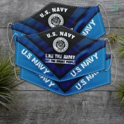 Baby Us Navy Us Navy Like The Army But For Smart People Funny Face Mask Gift %tag familyloves.com