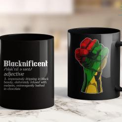 Black Lives Matter Art Blacknificent Afro African American Pro Black History Print 11Oz 15Oz Black Mug %tag familyloves.com