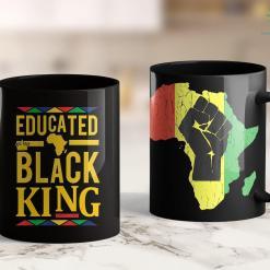 Black Lives Matter Article Dashiki Educated Black King Shirt - African Dna Pride Shirt 11Oz 15Oz Black Mug %tag familyloves.com