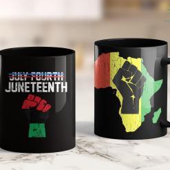 Black Lives Matter Founder Juneteenth Shirt Black History American African Freedom Day 11Oz 15Oz Black Mug %tag familyloves.com