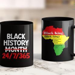 Black Lives Matter Platform Black History Month African American Pride Gift 11Oz 15Oz Black Mug %tag familyloves.com