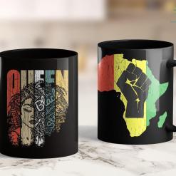 Black Lives Matter Toronto Melanin Shirt For Woman African Queen Strong Black American 11Oz 15Oz Black Mug %tag familyloves.com