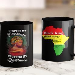 Black Lives Matter Wiki Black History Respect My Existence Unapologetically Melanin 11Oz 15Oz Black Mug %tag familyloves.com