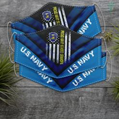 Case Us Navy Knife Flag Usa Proud Navy Seabee Grandpa Us Military Family Gift Face Mask Gift %tag familyloves.com