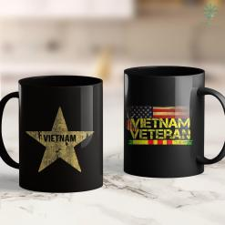 Charity Clothing Pickup Retro Vietnamese Flag Of Vietnam Souvenir Gift Men Women Kid 11Oz 15Oz Black Coffee Mug %tag familyloves.com